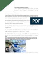 Limitations of CDMA