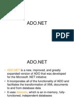 SynapseIndia DotNet Development-Presentation on ADO Net
