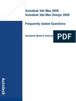 3ds Max 2009 and 3ds Max Design 2009 General Faq 2