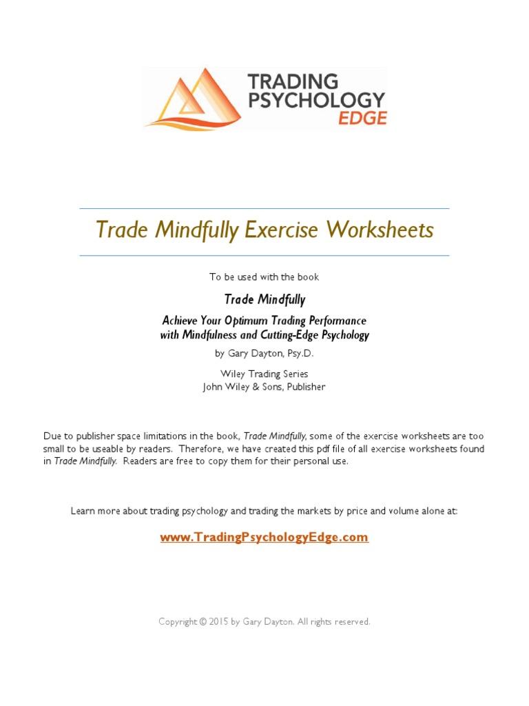 Workbooks psychology worksheets : Trade-Mindfully-Free-Exercise-Worksheets.pdf | Emotions | Self ...