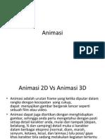 Animasi 2 Dimensi Vs Animasi 3 Dimensi