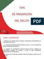 tips de prevencion del delito