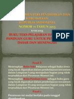 Peraturan Menteri Pendidikan Dan Kebudayaan
