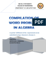 Math Word Problems and Solutions