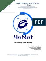 Curriculum Henet Ingenieros