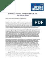 Strategi Penyelamatan Sektor Riil