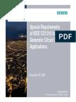 Special Requirement of IEEE C37.013 for Generator Circuit Breaker Applications