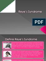 Reye's Syndrome