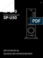 Yamaha AP-U70 & DP-U50 Manual