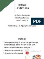 HEMATURI
