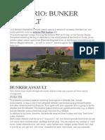 Scenario- Bunker Assault