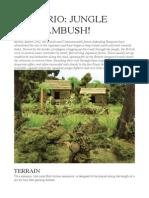 Scenario- Jungle Road Ambush!