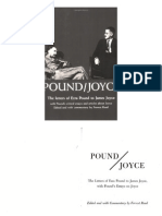 The Letters of Ezra Pound to James Joyce (160p) [Inua]