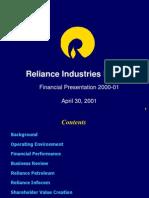 D54AnnualresultsforFY2000-01