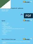 Razvoj LOB Windows 8