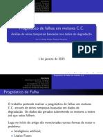 Prognóstico de falhas em motores C.C.