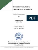 MR Fluid MTech Seminar