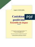 Catechisme Positiviste(Auguste Comte)