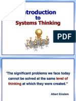 Sunum 1-Systems Thinking