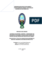 SISTEMA DE GESTIÓN, CONTROL Y MONITOREO DE PROCESOS UTILIZANDO TECNOLOGÍAS WORKFLOW CENTRO DE MULTISERVICIOS EDUCATIVOS CEMSE