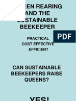 Raising Queens and the Sustainable Beekeeper