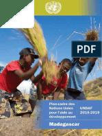 UNDAF Madagascar 2015-2019
