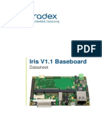 Colibri Arm Iris Carrier Board Datasheet