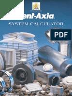 VENT AXIA System Calculator