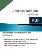 Pemilihan antibiotik rasional