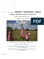 Amref's annual report for year two of the Katine project
