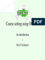 Course Drafting Using OCAD 9