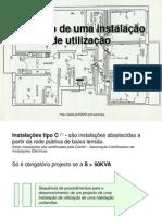 Projecto de Uma InstalaçãModelo de Utilização