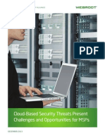 Cloud-Based Security Threats Present Challenges and Opportunities for MSPs - Whitepaper
