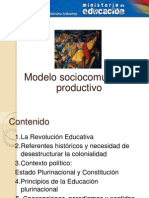 Modelo Sociocomunitario Productivo