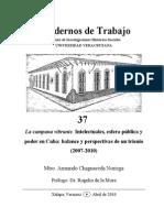 IntLa campana vibrante. Intelectuales, esfera pública y poder en Cuba