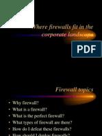 Myles Firewalls