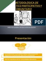 Diagnóstico Participativo y Comunitario Presentación