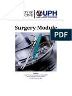 Surgery Module (Penerapan September - Desember 2014)