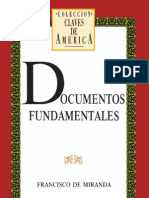 MIRANDA F - Documentos Fundamentales