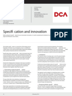 Specification and innovation