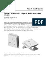 3Com® IntelliJack® Gigabit Switch NJ2000