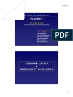 Thermosets & thermoplastics