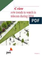 Telecom Trends 2014