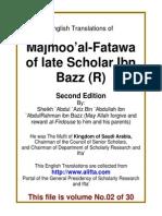 En 02 Majmoo AlFatawa IbnBaz