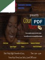 Couples Date Night Flier