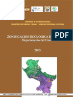 Zonificacion Ecologica Economica Cusco