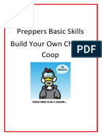 Preppers Basic Skills Chicken Coop