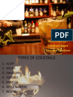 Types of Cocktails
