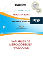 Variable Promocion