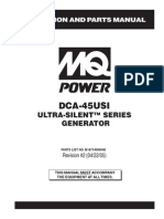 Generators Portable Ultrasilent DCA45USI Rev 2 Manual DataId 19073 Version 1